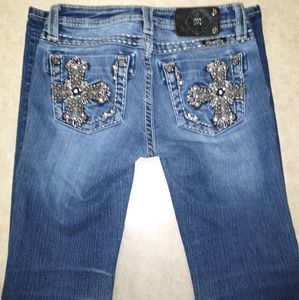 Girls Miss Me Jeans Size 14 skinny
